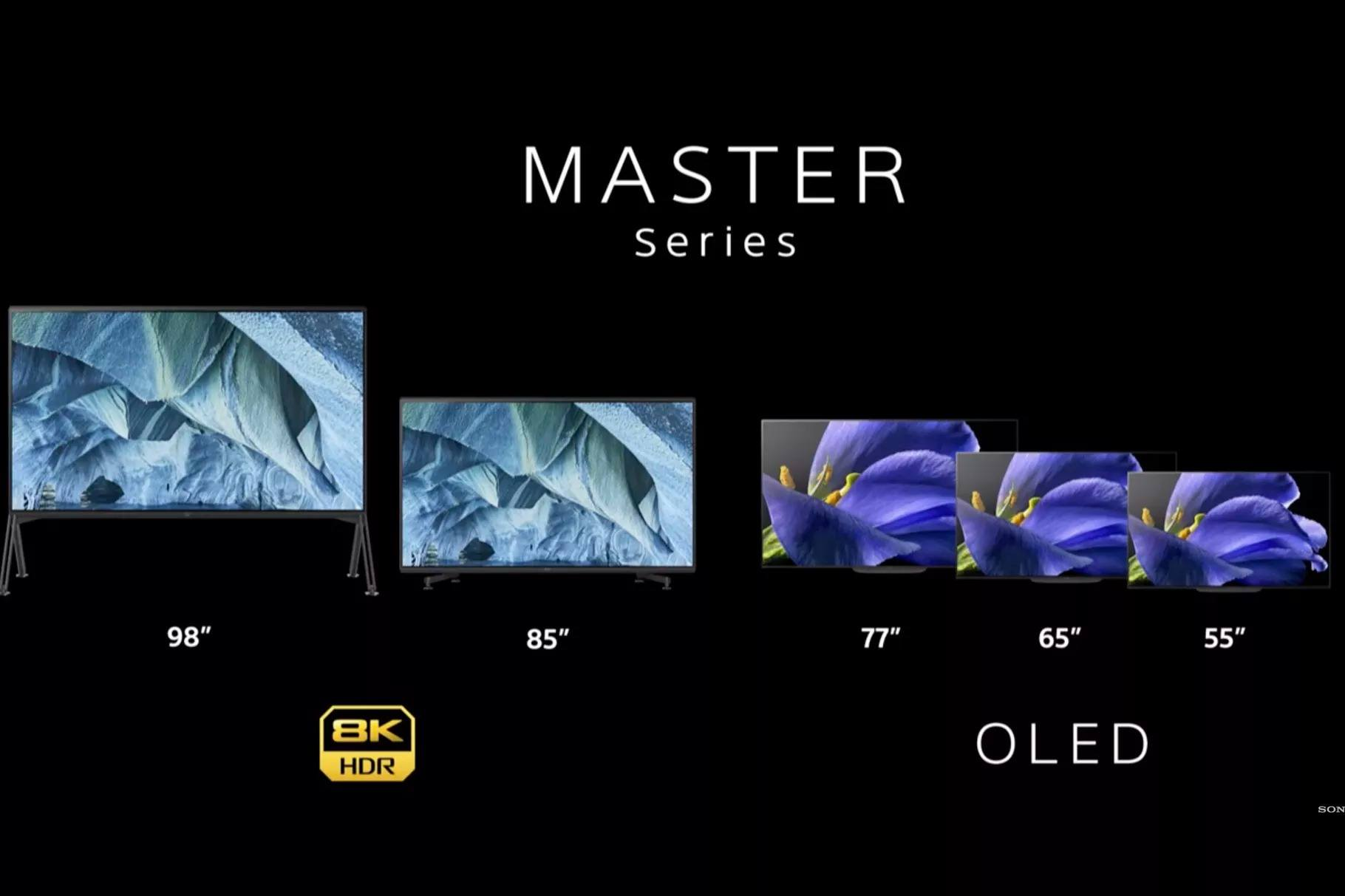 TV Sony master series