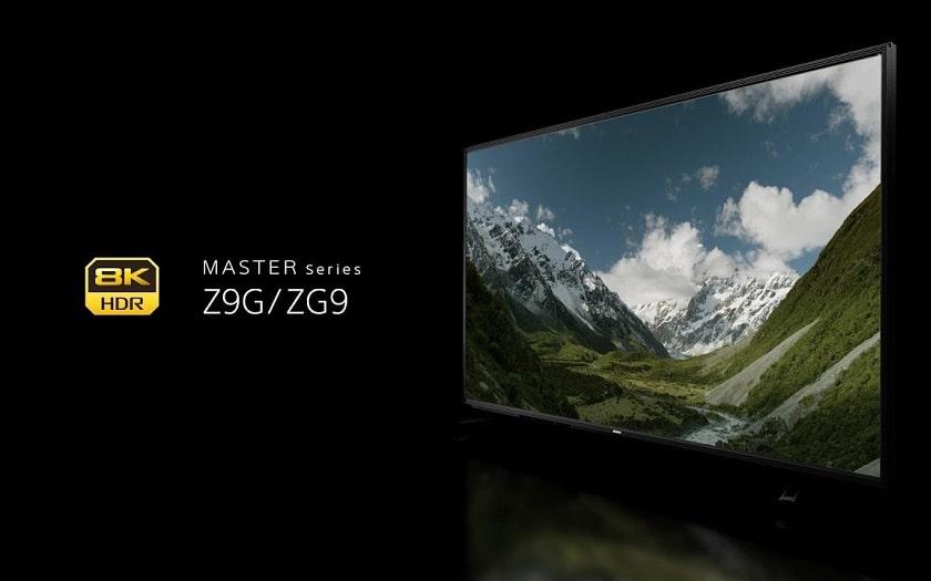 TV Sony Z9G ZG9 8K